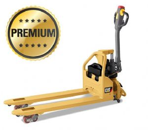 Cat Electric Pallet Truck - lithium-ion, capacity 1,200 kg, Forklength 1220mm